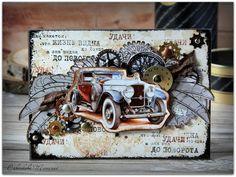Шарики-бусики...: Мужская с автомобилем.
