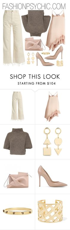 """""""Soft Colors"""" by fashionpsychic on Polyvore featuring Rachel Comey, Elizabeth and James, FABIANA FILIPPI, Eddie Borgo, Gianvito Rossi, Tory Burch and Kenneth Jay Lane"""