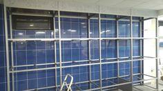 Aquarium rack in construction