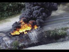 УКРАИНА НОВОСТИ СЕГОДНЯ 2014. ДОНЕЦК Место крушения сбитого МиГ 29 ПОСЛЕ...