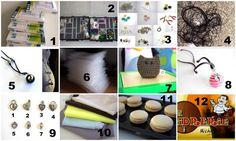 Ma semaine à l'atelier : semaine 8/ 2014 Du travail, des cadeaux et des gourmandises dans l'atelier de La caverne à créations