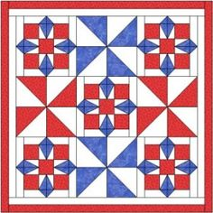 Nine patch star quilt pattern and tutorial from Ludlow Quilt and Sew