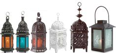 Morrocan style lanterns - Bollywood Bedlam Style Files By Duckprint
