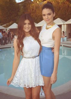 Kylie and Kendall ♡