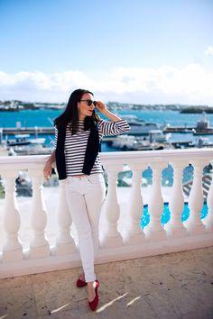 striped shirts   ISO a lighter weight/short sleeve striped shirt