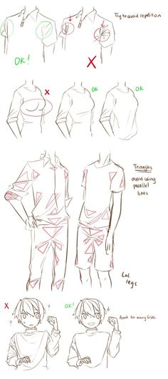 Clothes fold tips