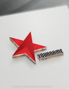 Design your own Star Logo ideas. Branding yourself a business never been faster! Instantly use the star logo maker to create a logo online. Branding Your Business, Corporate Branding, Business Branding, Logo Branding, Create A Logo Free, Typography Logo, Fashion Typography, Design Fails, 3d Star