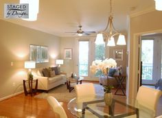 Market | Vacant Condominium | Staged by Design, LLC #homestaging