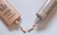 High vs. Low Beauty: Laura Mercier Radiance Dupe - Makeup Life and Love - Revlon Photoready skinlights in bare light