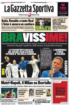 La Gazzetta dello Sport (11-08-13) Italian | True PDF | 36 17 pages | 8,48 3,94 Mb