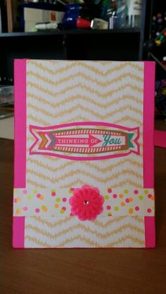 Card by Claire Morrison: Thinking of you card