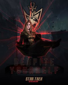 Star Trek Discovery - 'Despite Yourself' by Laz Marquez & Geek Filter New Star Trek, Star Wars, Mirror Universe, Star Trek Images, Star Trek Characters, Fictional Characters, Sci Fi Shows, Starship Enterprise