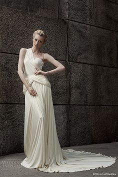 Della Giovanna 2015 秋冬婚纱大片 #wedding dress #idea