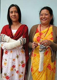 Mujeres de #Nepal
