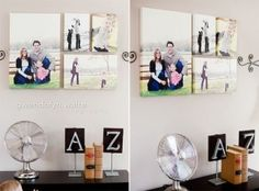wall display ideas | www.jennimaroney.com | featured fridays | how to hang your family photos on your wall