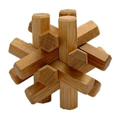 Wooden puzzle shaped like a star! #splendideveryday