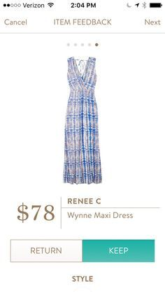 If this fits hits just below the bra line and not supposed to hit at waist, I would love this. Renee C Wynne Knit Maxi Dress - Google Search
