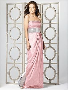 Dessy Collection #pink #bridesmaid #dress