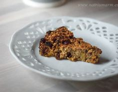 Apple-fruit cake, healthy and easy. (in Dutch with translator) Low Sodium Recipes, Apple Fruit, Sugar Free, Banana Bread, Melk, Paleo, Low Carb, Healthy, Dutch