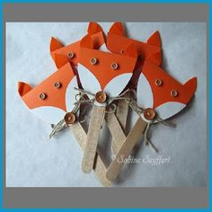 Grandma's Craft And Cooking Corner: Fox themed Party invitations