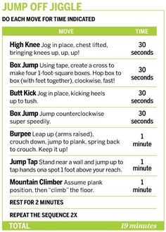 Replace 'jump tap' with 'block jump' and do a push up in the burpees= volleyball workout