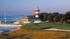 the picturesque 18th hole  Harbour Town golf course  home of The Heritage PGA Tournament