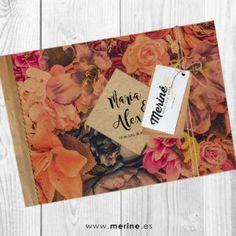 Invitaciones de boda originales y montadas a mano. Diseños originales. Envíos en 24 horas. conoce nuestra web!! ;)