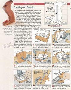 Making Hand Plane Handles - Hand Tools Tips and Techniques   WoodArchivist.com