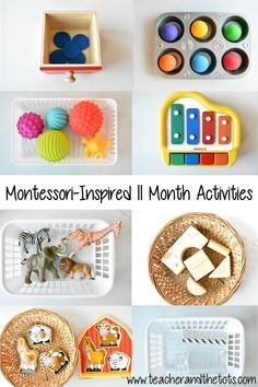 Montessori-Inspired Activities at 11 Months 11 months was a busy age! These were some of the Montessori-inspired activities that Aiden loved at 11 months… Diy Montessori Toys, Montessori Toddler, Toddler Toys, Baby Toys, Montessori Bedroom, Montessori 12 Months, Baby Sensory Play, Baby Play, 11 Month Old Baby