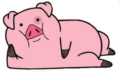 Waddles the pig