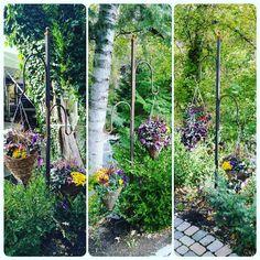 Was privileged to make these hanging basket hooks for my sister's wedding! #hangingbaskets #justhangingout #fallwedding #metalwork #lasser #lassermetal #lassermetalworks #millcreek #millcreekcanyon #millcreekinn #millcreekinnwedding #utahwedding #millcreekwedding #hangingflowers #garden #gardening #greenthumb #rusted #rustymetal