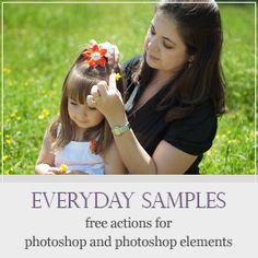 Lots of #free actions for #photoshop and photoshop elements from @amandapadgett