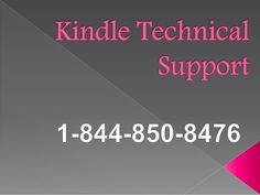 Contact Number for Kindle Technical Support