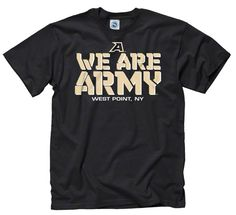 Made from 100% cotton, this Army Black Knights t-shirt features a rib knit collar and vibrant screen print graphics. Show off your team pride with this comfy shirt.