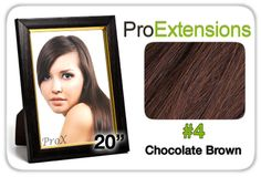 "Pro Fusion 20"", #4 Chocolate Brown"