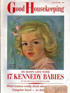 Cute little Caroline Kennedy!