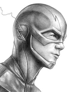 HeroChan — Sketch Sunday: The Flash Created by Iain Reed