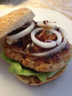 Turkey Burger, lean and juicy friggin delicious! No egg, No bread product!