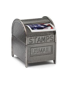 1000 images about stamp dispenser on pinterest stamps for Mini tin mailboxes for crafts
