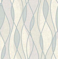 Gyro Pewter Swirl Geometric 2662-001969 wallpaper