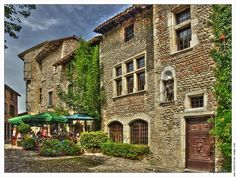 Perouges, France a beautiful old medieval village