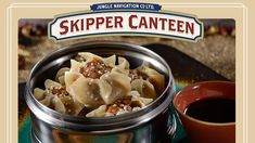 """Diners at Magic Kingdom Park can soon set off on a culinary adventure at a new eatery in Adventureland featuring """"World Famous Jungle Cuisine."""" The Jungle Navigation Co. Skipper Canteen will open on December 16 at Walt Disney World Resort. Disney World Food, Disney World Resorts, Shu Mai Recipe, Dumpling Dipping Sauce, Best Chinese Food, Food Park, Disney Parks Blog, Magic Kingdom, Asian Recipes"""