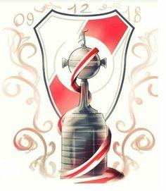 Escudo River Plate, River Tattoo, Fifa Football, Time Tattoos, Carp, Soccer, Grande, Instagram, Dad Daughter Tattoo