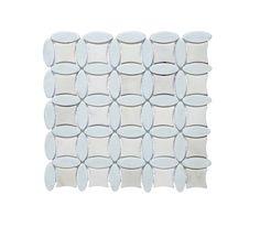 Monaco Pearl Mosaic   Topps Tiles   £174.17 per sq m