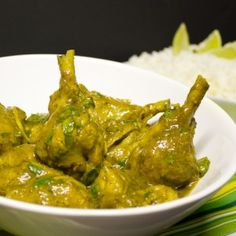 Trinidad-style curry chicken