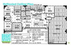 Office reflected ceiling plan recherche google reflected for Interior designs xword