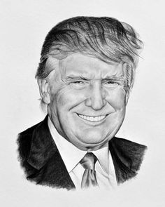 Kresba na objednávku - Donald Trump
