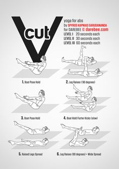 V Cut Workout