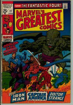 Marvel's Greatest Comics 27 (VG- 3.5)