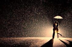 Kissing in the Rain